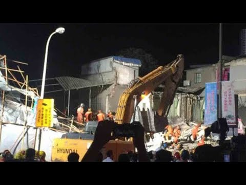 5 dead after building collapses in Shanghai