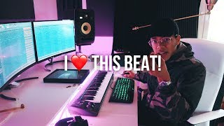 I HONESTLY LOVE THIS BEAT I MADE! (Chuki Beats Making A Beat)