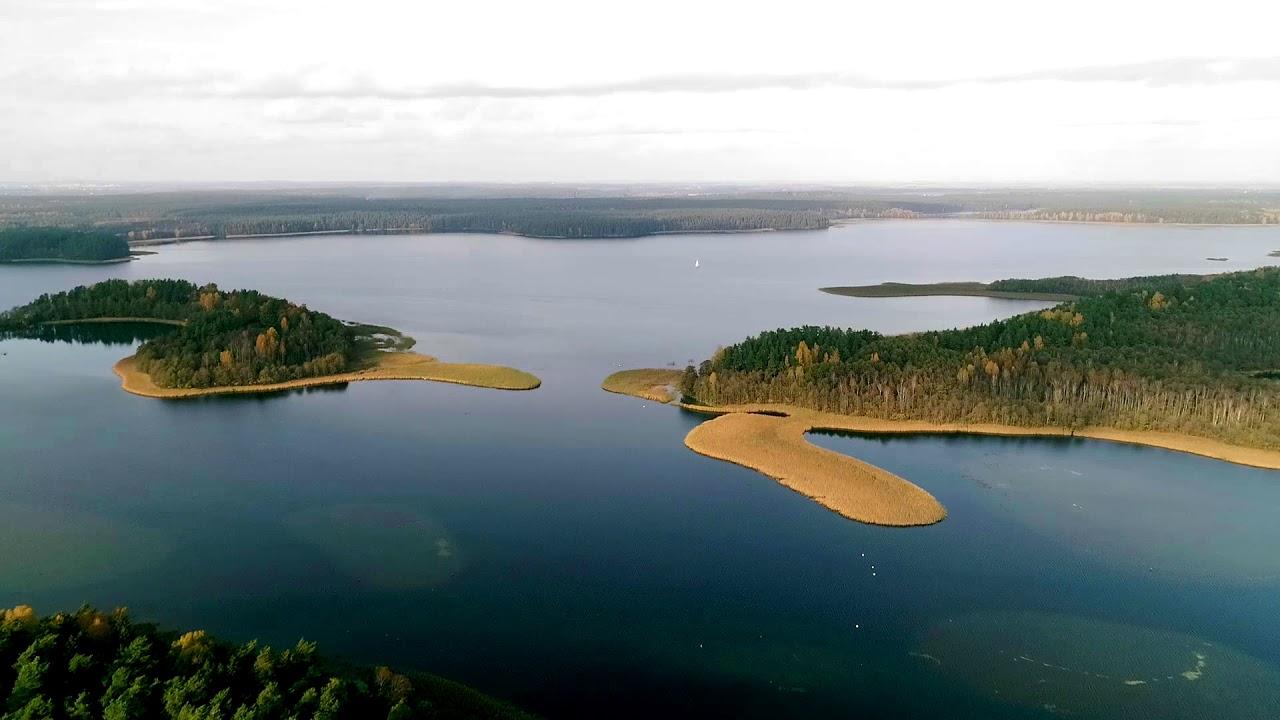 SHORTIES #5 - Jezioro Wigry z lotu ptaka - YouTube