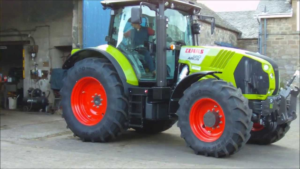 Claas 650 Arion Tractor Brand New!