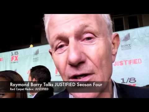 Raymond Barry Talks JUSTIFIED Season 4