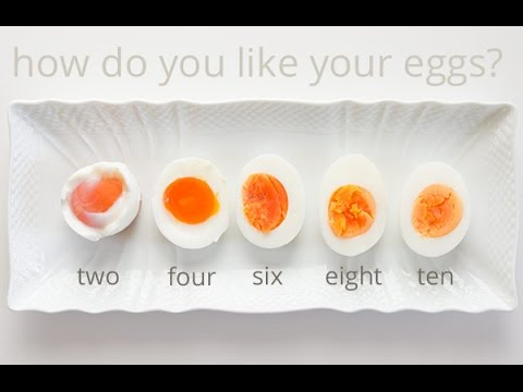 How to Make Perfect Soft Boiled Egg | Half Boiled Egg | 半熟煮卵おむすび | 温泉玉子の作り方