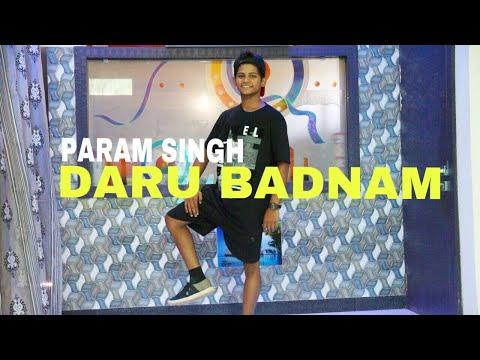 Daru Badnaam | Kamal Kahlon & Param Singh | Dance Choreography By Ashish Sen | SS Dance Studio