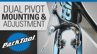 Brake Caliper Mounting & Adjuṡtment - Dual Pivot