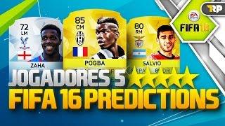 FIFA 16 POSSÍVEIS JOGADORES 5 ESTRELAS DE DRIBLE #01 ZAHA, SALVIO, POGBA, CORONA
