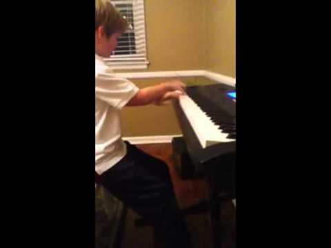 Ryan playing piano again