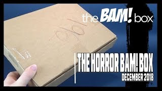 What's in The Bam Horror Box for December 2018?