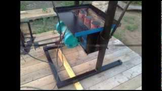 Самодельный шлакоблочный станок.(Видеоинструкция самодельного изготовления станка для производства шлакоблоков в домашних условиях., 2014-03-03T11:43:30.000Z)