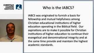 Christian Leaders Institute Accredited by IABCS