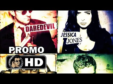 Thumbnail: THE DEFENDERS Official Character Promo Trailers (HD) Marvel/Netflix Series