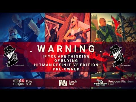 HITMAN Definitive Edition Warning!