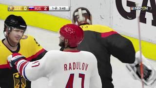 Чемпионат мира по хоккею Сборная Германии Сборная России