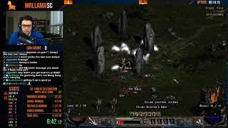 Diablo 2 - Getting back into Speedrun Practice (07/09/2019)
