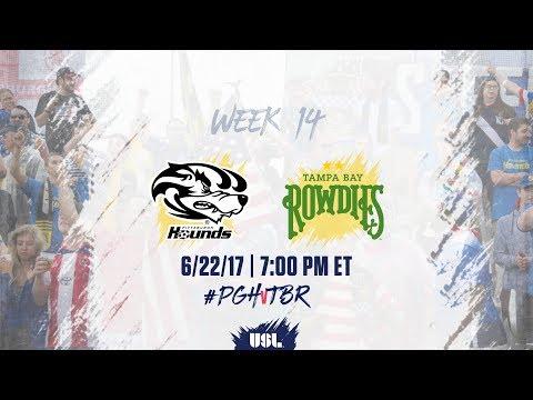 USL LIVE - Pittsburgh Riverhounds vs Tampa...