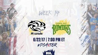 USL LIVE - Pittsburgh Riverhounds vs Tampa Bay Rowdies 6/22/17