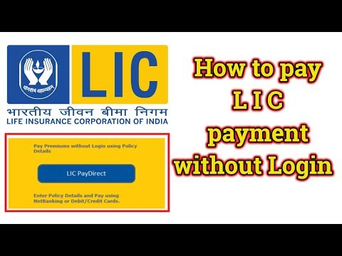 How to pay LIC premium payment online without Login   Easy Method   Digital hub9