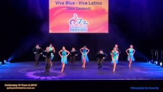 Viva Blue team - Viva Latino at Sydney Latin Festival 2013