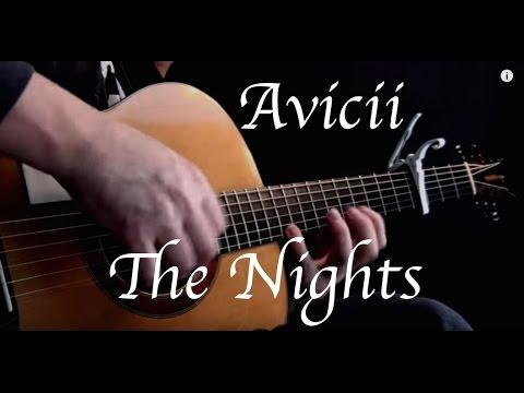 Kelly Valleau - The Nights (Avicii ) - Fingerstyle Guitar