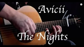 Avicii - The Nights - Fingerstyle Guitar