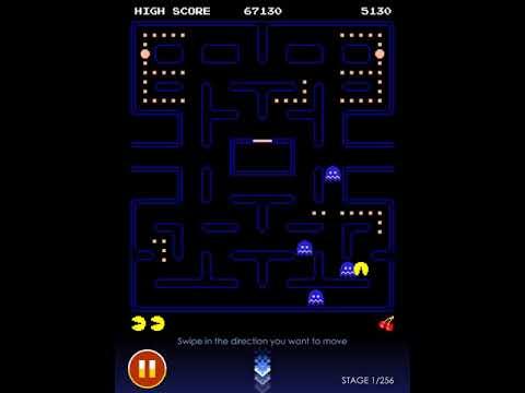 Pacman IPad , IPhone - Stage 1 (14,800 Point) Original Mode