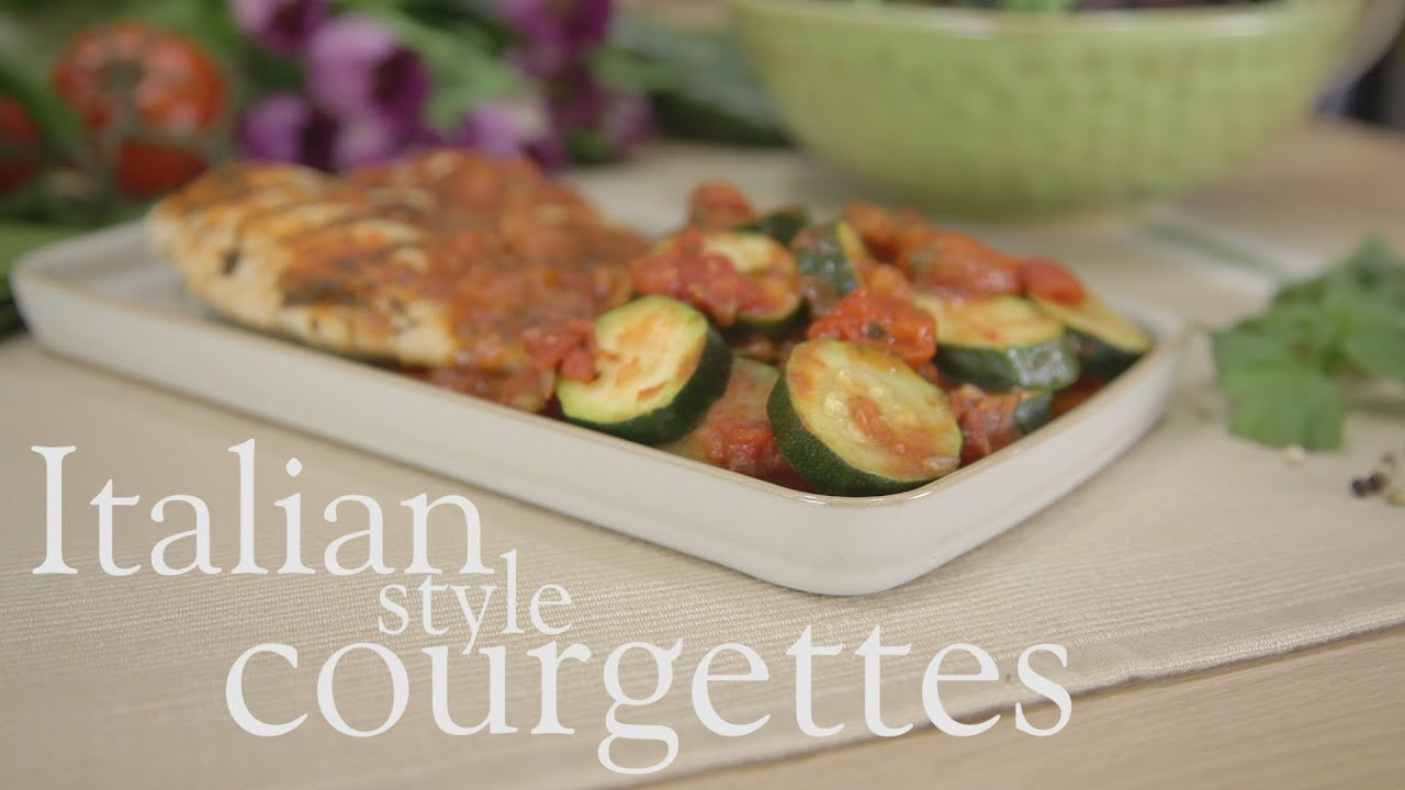 Easy Italian Style Courgettes Slimming World Recipes