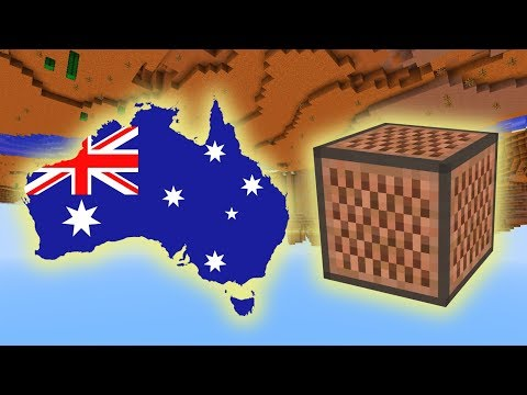 Men At Work - Down Under (Minecraft Note Block Cover)
