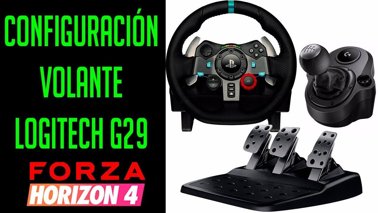 Configuración Volante Logitech G29 Para Forza Horizon 4 Dadxter Youtube