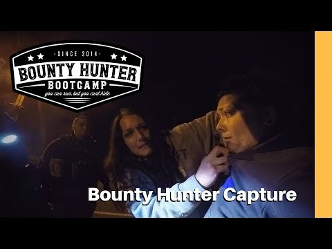 It's in there somewhere! Bounty Hunter CAPTURE