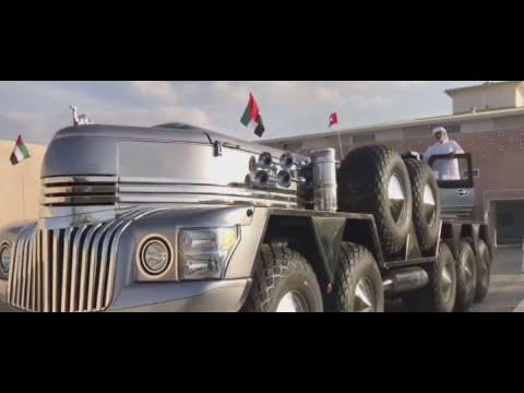 سيارة أحد أفراد الأسرة الحاكمة بأبوظبي تثير دهشة  - 18:55-2019 / 3 / 15