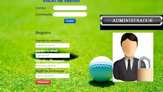 Login y registro con php y mysql mas administrador de usuarios