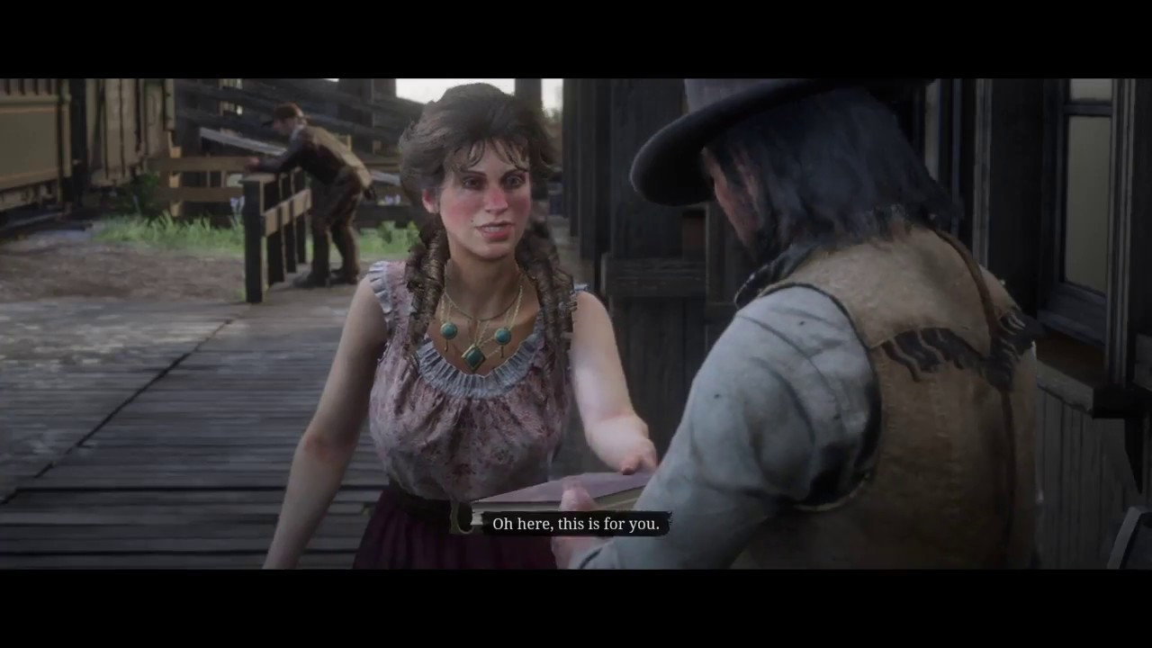 Meeting Mary Beth after Ending *SPOILERS* Red Dead Redemption 2
