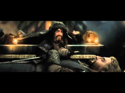 The Hobbit The Battle of Five Armies Deleted Scene- Thorin's Funeral