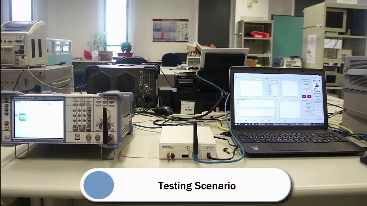 USRP-in-MATLAB VSA for LTE Downlink Signal Testing