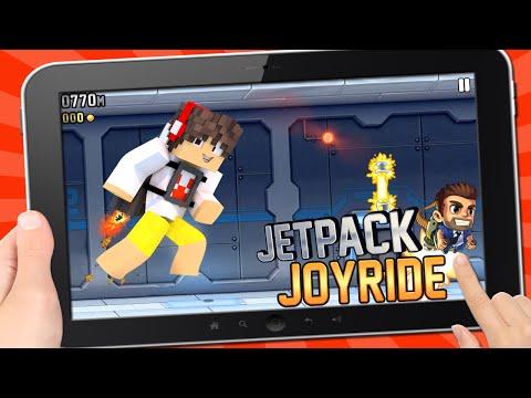 JETPACK JOYRIDE NO MINECRAFT !!