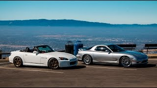 1993 Mazda RX7 vs. 2007 Honda S2000 - Head to Head Review!