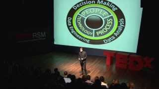 Data science and our magical mind: Scott Mongeau at TEDxRSM