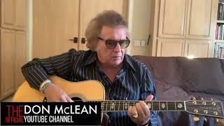 Legendary Tips and Guitar Tricks with Don McLean