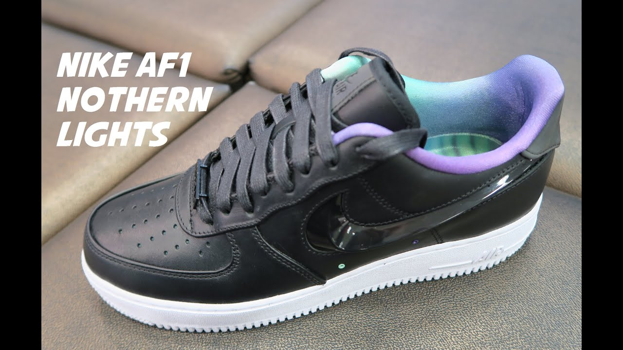 buy popular 82648 5028e Nike Air Force 1 Northern Lights Allstar Sneaker Detailed Review Including  Reflective Test