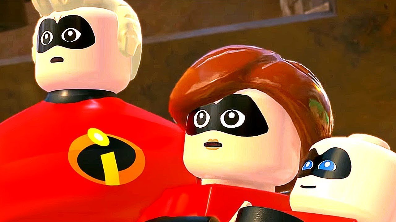 INCREDIBLES 2 'FULL MOVIE' 1080P HD (2018) 🎥Full Length Movie Lego🎥