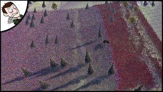 Massive 40000 Roman v Spartan Battle - Ultimate Epic Battle Simulator Gameplay