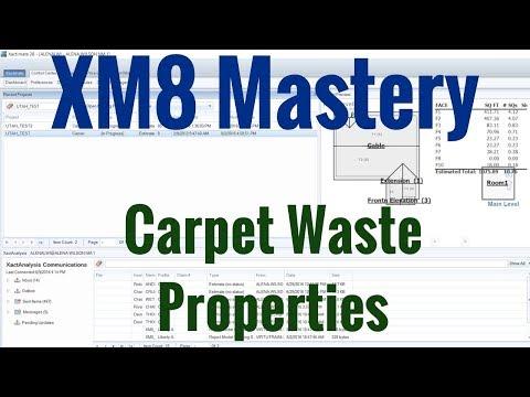 Carpet Waste Settings