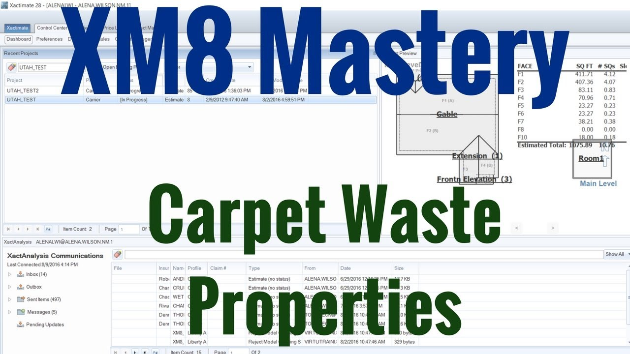 Carpet Waste Settings | XM8