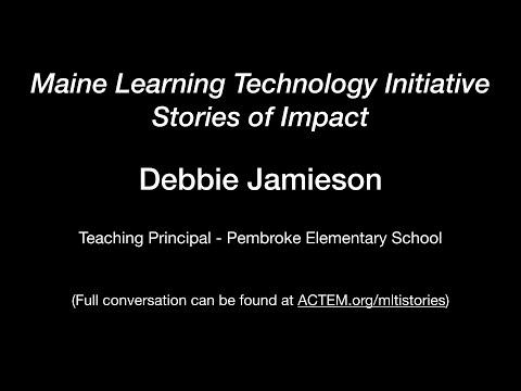 Debbie Jamieson - Initial research re: MLTI impact