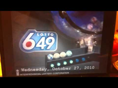 Olg Lottery 649 Numbers
