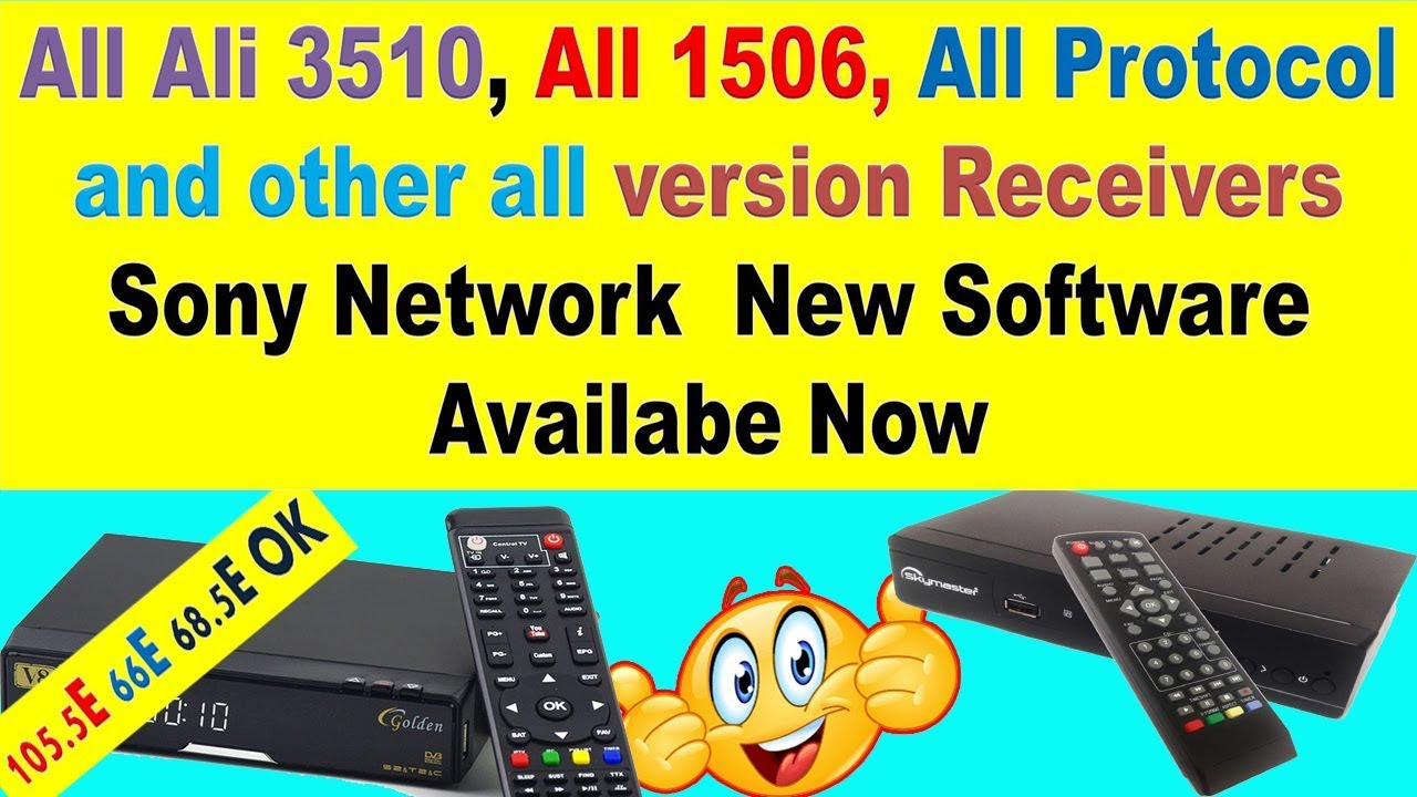 All 1506,All Ali3510,All Protocol and Other All China Receiver's New