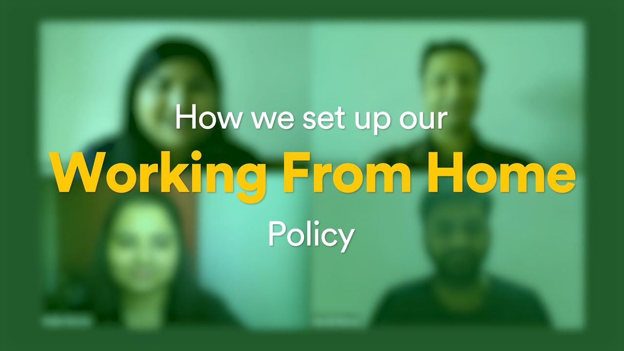 How we set up our work from home policy | Flock