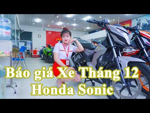 Báo Giá xe Tháng 12 / Honda Sonic 150 2020 / Giá Mới