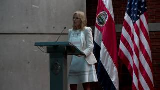 Dr. Jill Biden Speaks on Gender Equality in San Jose, Costa Rica