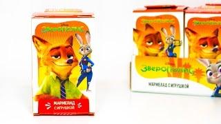 ЗВЕРОПОЛИС игрушки от Свитбокс Новинка Sweet Box Zootopia