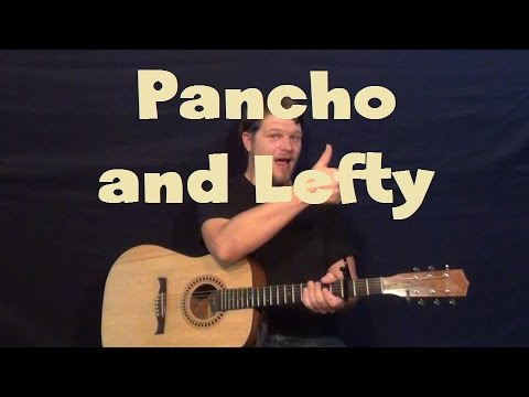 Pancho and Lefty (Willie Nelson/Merle Haggard) Easy Strum Guitar Lesson How to Play Tutorial